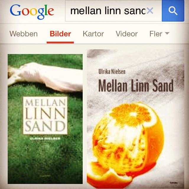 """Instagram media by litteraturmagazinet - Just läst Ulrika Nielsens """"Mellan Linn Sand"""". Bra och alldeles för kort! Dessutom: fascinerande med så olika omslag i Sverige respektive Finland! #omslag / #seb_lm"""
