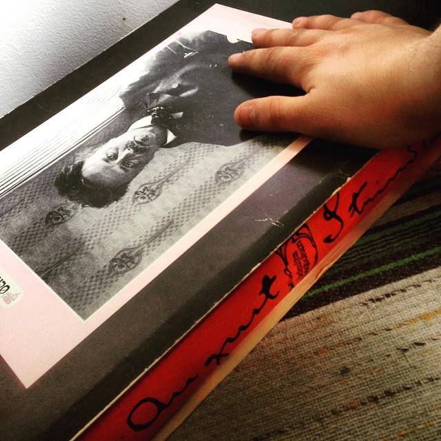 """Instagram media by litteraturmagazinet - Dagens second hand-kap: Strindbergs """"Ockulta dagboken"""" i faksimil. Stor lunta! #klassiker #boklycka #strindberg / #seb_lm"""