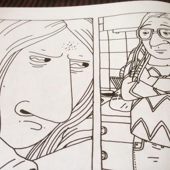 Instagram media by litteraturmagazinet - Hanna Gustavsson tecknar tårar #iggy #galago #serier / #seb_lm