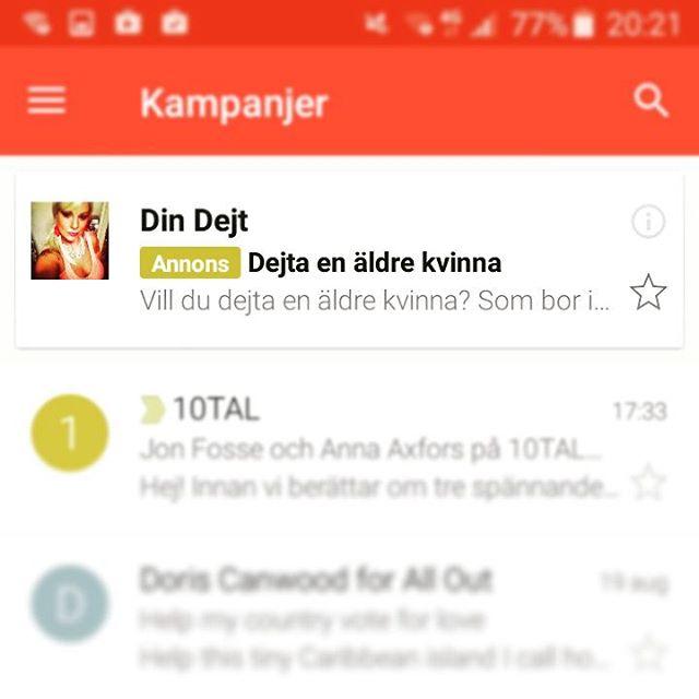Skönt att Gmail vet vad jag verkligen behöver 😗 #reklam